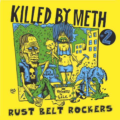 V/A- Killed By Meth Vol. 2 LP ~W/ ERIK NERVOUS / CITY SLANG!