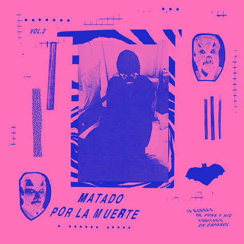 V/A- Matado Por La Muerte Vol. 2 LP ~KILLER! - Blondes Must Die - Dead Beat Records