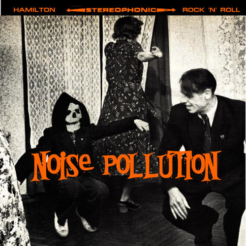 "V/A- Noise Pollution 7"" ~FLESH RAG! - It's Trash - Dead Beat Records"