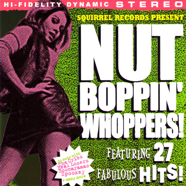 V/A- Nut Boppin' Whoppers CD ~W/ BOONARAAAS / REAL LOOSERS / REVELATORS!