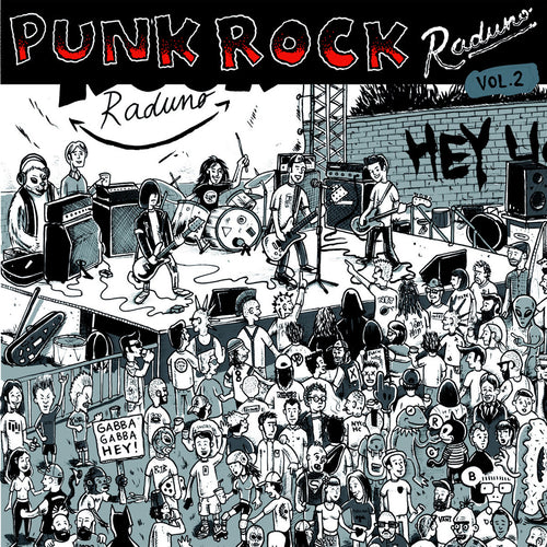V/A- Punk Rock Raduno Vol. 2 LP ~W/ NEW BOMB TURKS, NIKKI CORVETTE!