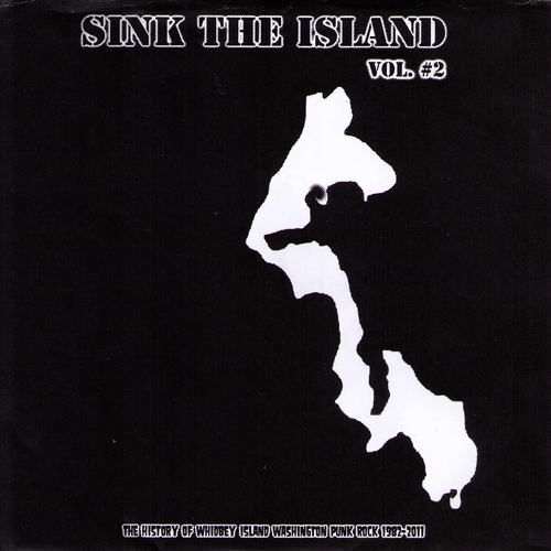 "V/A- Sink The Island Vol. #2 7"" ~W/ THE ACCÜSED!"