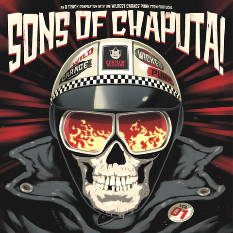 "V/A- Sons Of Chaputa 10"" ~CHERRY RED WAX!"