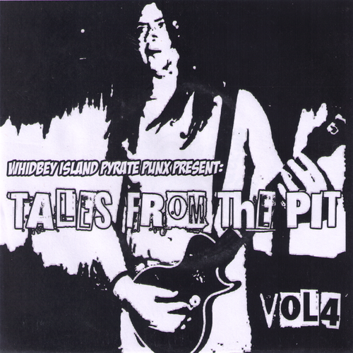 "V/A- Tales From The Pit Vol. #4 7"" ~RARE COMP W/ FANG!"