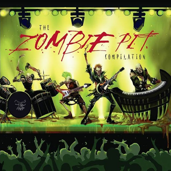 V/A- Zombie Pit CD ~W/ ANTISEEN, RAW POWER, COVEN!