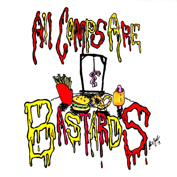 V/A- All Comps Are Bastards CD ~W/ ELECTRIC FRANKENSTEIN + POISON BOYS!