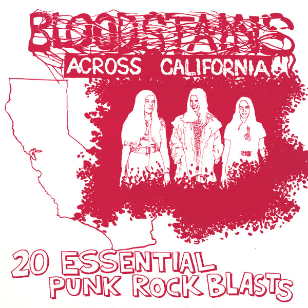 V/A- Bloodstains Across California CD ~REISSUE!