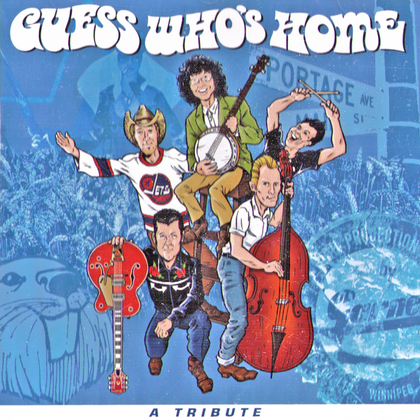 V/A- Guess Who's Home CD ~W/ PERPETRATORS, KNUCKLEDUSTER!