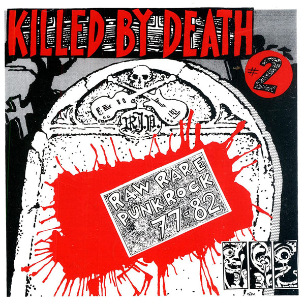 V/A- Killed By Death #2 LP ~REISSUE!