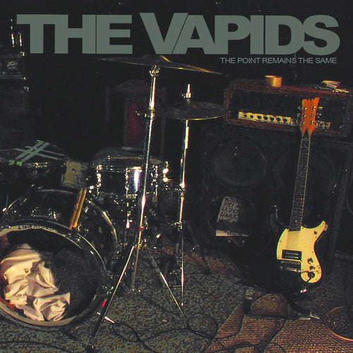 The Vapids- Point Remains The Same LP ~REISSUE!