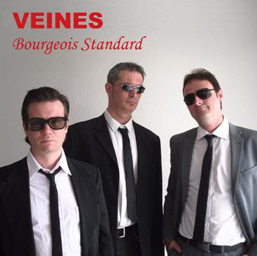 Veines- Bourgeois Standard LP - Demolition Derby - Dead Beat Records