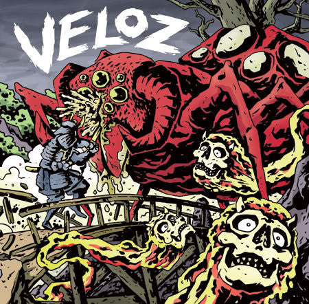 "VELOZ - S/T 7"" - Feeble Minds - Dead Beat Records"