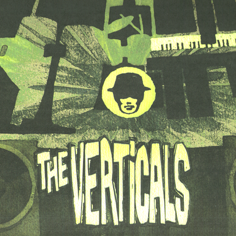 The Verticals- S/T LP ~THE VENTURES!