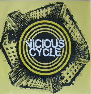 "Vicious Cycle- S/T 7"" - Radio 81 - Dead Beat Records"