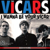Vicars- I Wanna Be Your Vicar LP ~BILLY CHILDISH!