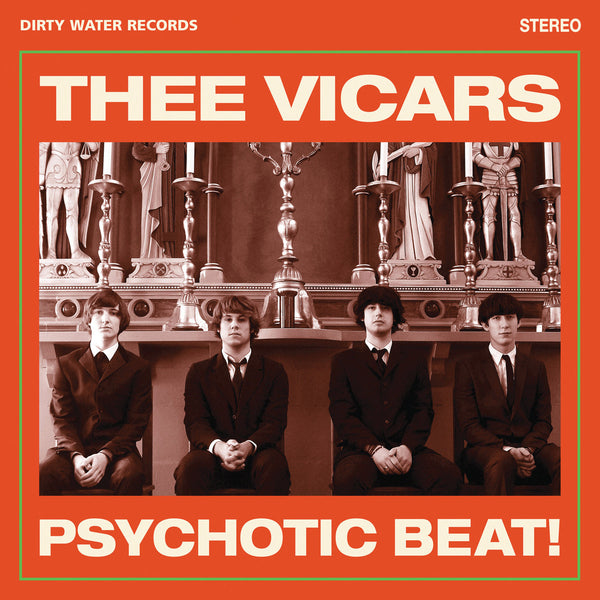 Thee Vicars- Psychotic Beat CD ~BILLY CHILDISH!