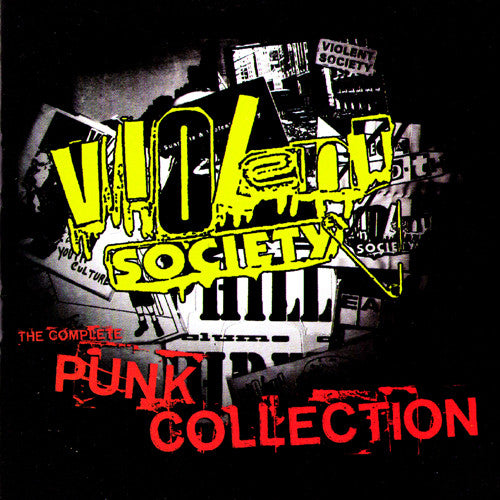 Violent Society- Complete Punk Collection LP > LIMITED TO 500! - Puke N Vomit - Dead Beat Records