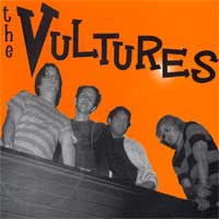 "The Vultures- Alcoholic Lady 7"" ~EX TYVEK! - Dirtnap - Dead Beat Records"