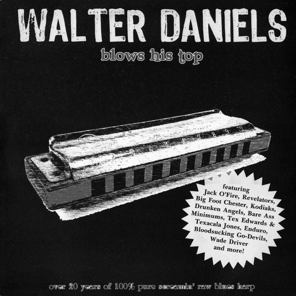 WALTER DANIELS- 'Blows His Top' 2xLP - Rockin Bones - Dead Beat Records