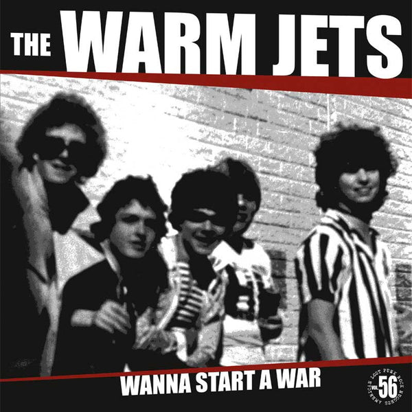 Warm Jets - Wanna Start a War LP ~REISSUE - Rave Up - Dead Beat Records