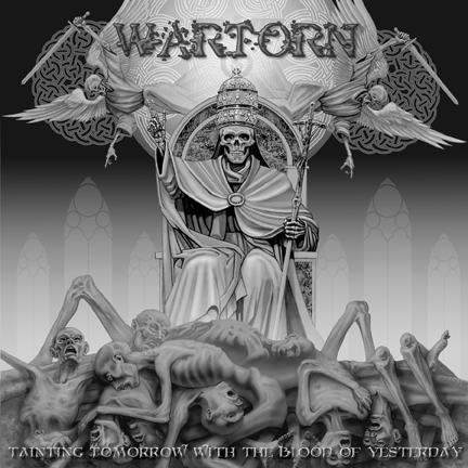 Wartorn- Tainting Tomorrow With the Blood Of Yesterday CD - Profane Existence - Dead Beat Records