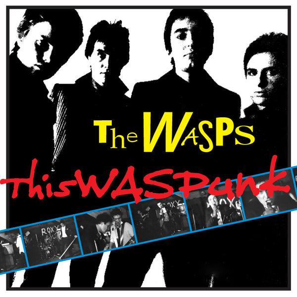 THE WASPS - Thiswaspunk LP - Rave Up - Dead Beat Records