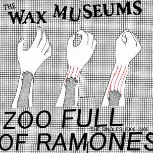 WAX MUSEUMS - Zoo Full Of Ramones LP ~EX VIDEO! - Tic Tac Totally - Dead Beat Records