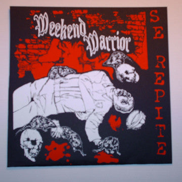 "Weekend Warrior- S/T 7"" - Mass Media - Dead Beat Records"