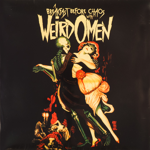 Weird Omen- Breakfast Before Chaos LP  ~EX KING KHAN & HIS SHRINES! - Beast - Dead Beat Records