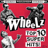 Wheelz- Top 10 Super Hits LP ~RARE RED, BLACK + WHITE COVER!