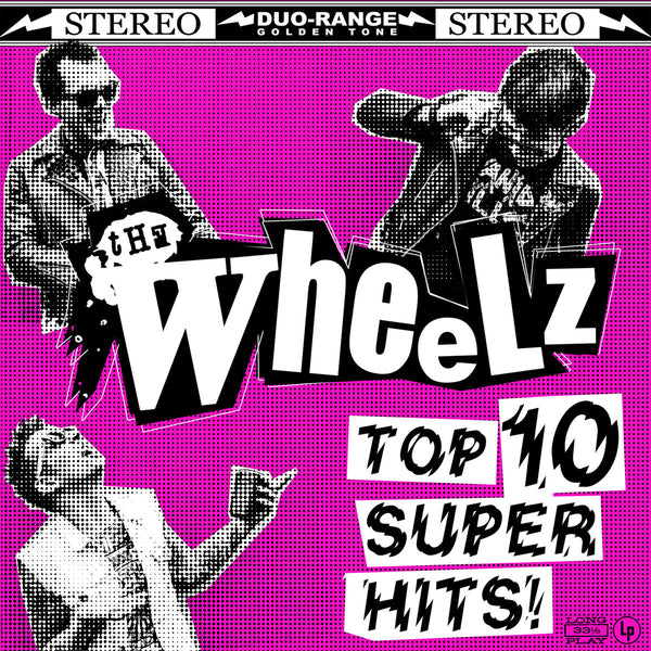 Wheelz- Top 10 Super Hits LP ~RARE PINK COVER LTD TO 150!