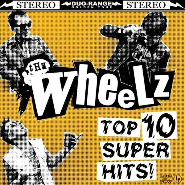 Wheelz- Top 10 Super Hits LP ~KILLER!