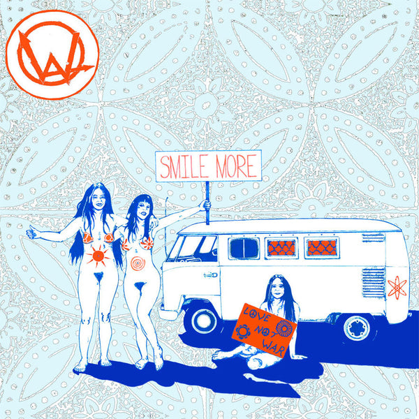 Wide Angles- Smile More LP ~NAKED RAYGUN!