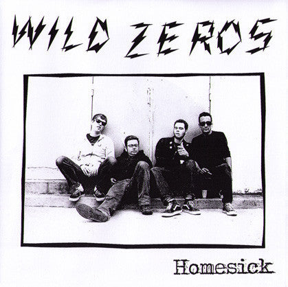 "Wild Zeros- Homesick 7"" - Frantic City - Dead Beat Records"