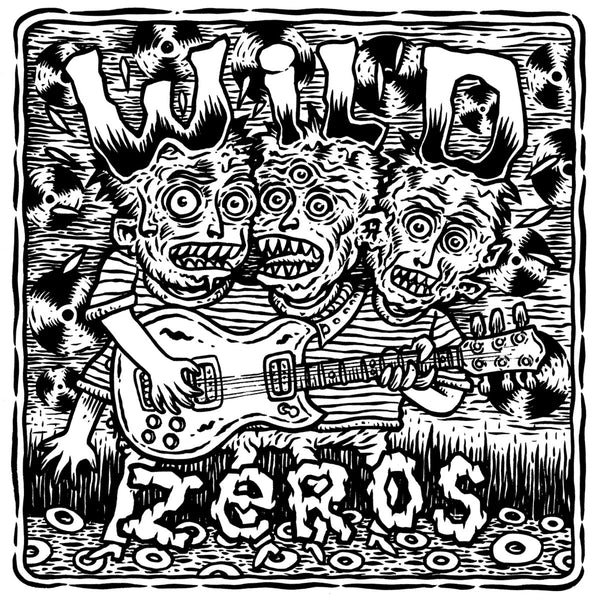 "Wild Zeros- S/T 10"" ~SAINTS!"
