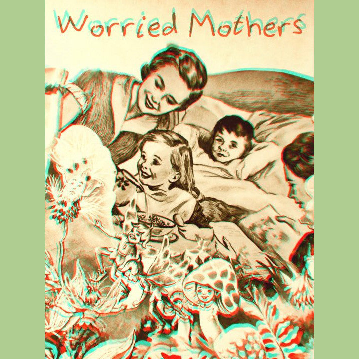 Worried Mothers-S/T CS - Rainy Road - Dead Beat Records