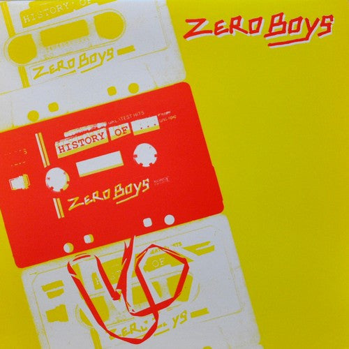 Zero Boys- History Of The Zero Boys LP - Unknown - Dead Beat Records