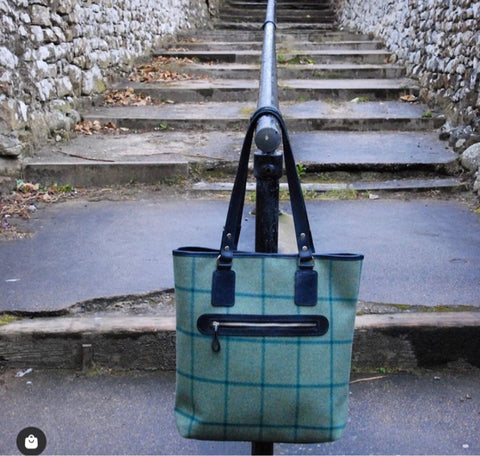 Lyon Tote Bag in Links House Tweed