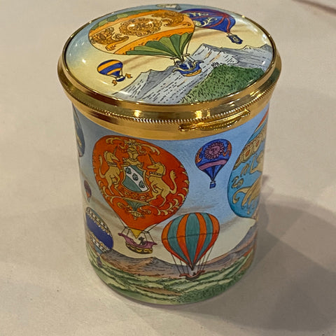 Staffordshire Enamel Box