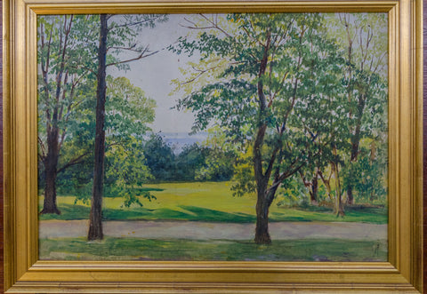 Oil on Canvas Scenic Landscape by Eleanor R. Price