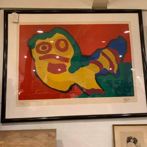 Karel Appel Lithograph, signed & numbered