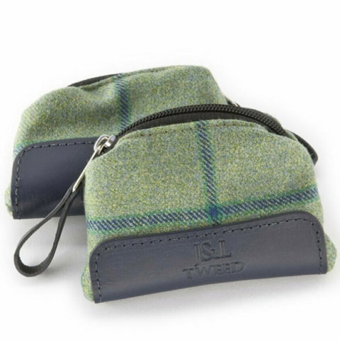 Morgan Coin Purse in Links House Tweed