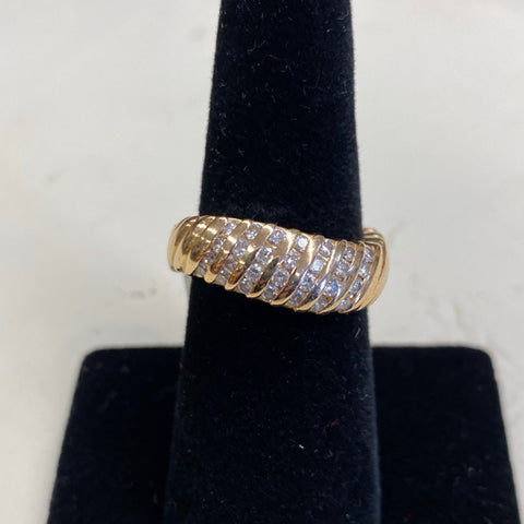 14k and Diamond Ring