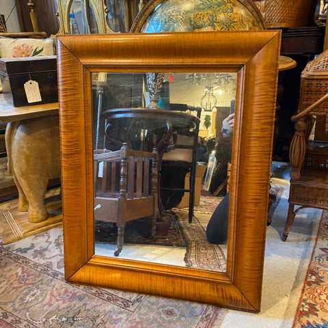 Tiger Maple Mirrored  Medicine Cabinet