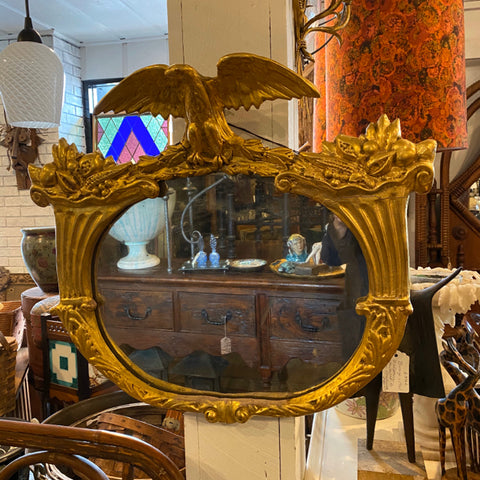 Gold Leafed Eagle Mirror