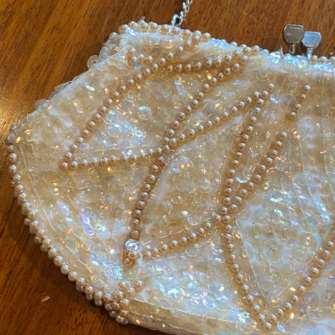 Sequined Bag, as is