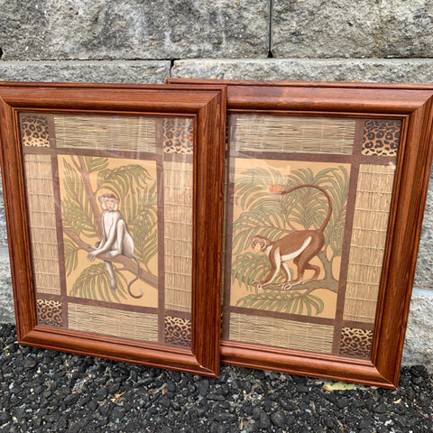 Pair of Monkey Prints