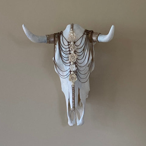 Embellished Cow Skull