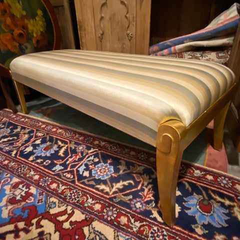 Robert Scott Custom Upholstered Bench