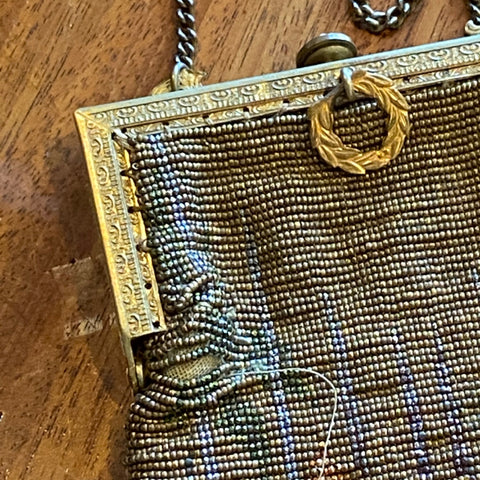 Art Deco Beaded Bag, as is